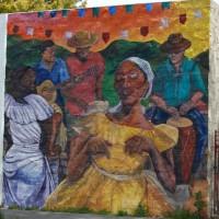 Mural at Casa de Cultura